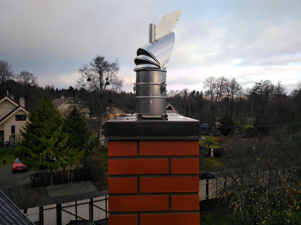 korstna ventilaator